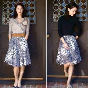 Anthropologie Laurenti Circle Skirt